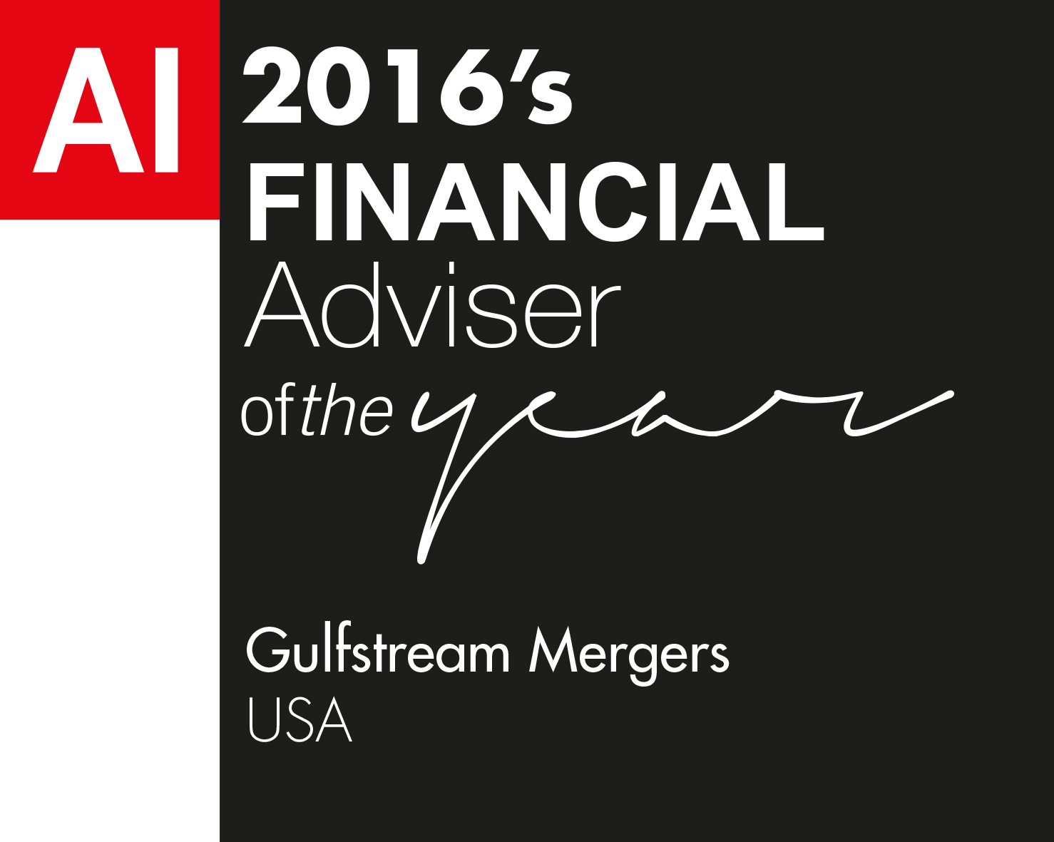 Financial Adviser of the Year Award